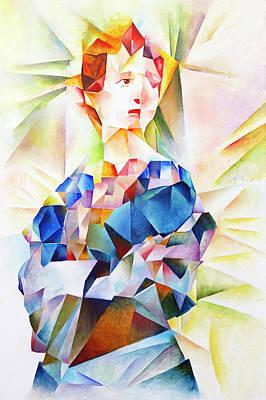 Painting - Eivor by Vlad Zabavskiy