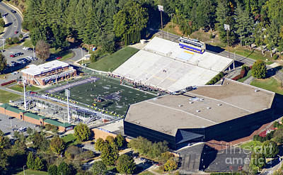 E.j. Whitmire Stadium And Ramsey Center At Wcu Art Print