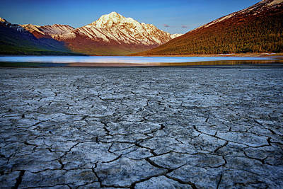 Photograph - Eklutna Lake by Rick Berk