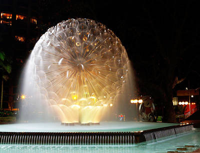 Photograph - El Alamein Fountain by Nicholas Blackwell