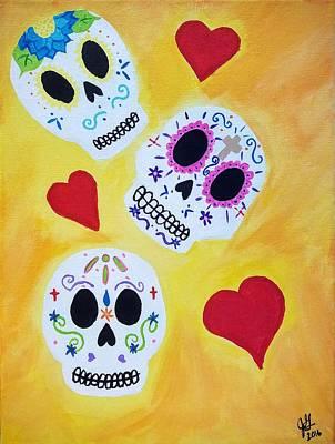 El Amor Painting - El Amor De Los Muertos by Jessica Gould