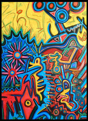 Arcas Painting - El Arca De Noa by ArJei EmSi