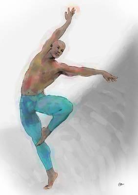 El Arte De La Danza Art Print by Quim Abella