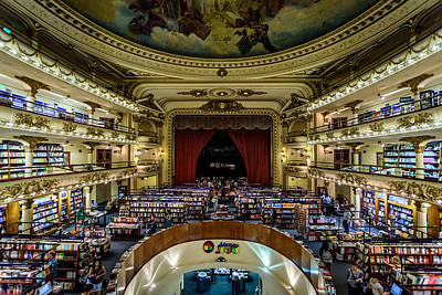 Photograph - El Ateneo Grand Splendid by Randy Scherkenbach