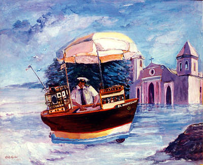 Borromeo Painting - El Aventurero by Estela Robles