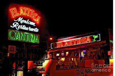 Corky Willis And Associates Atlanta Photograph - El Azteca Restaurant by Corky Willis Atlanta Photography