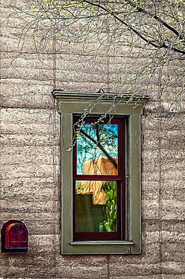 Photograph - El Barrio Window by Maria Coulson