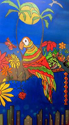 Painting - El Bird by MikAn 'sArt