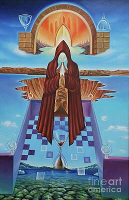 Painting - El Camino De La Luz by Jorge L Martinez Camilleri