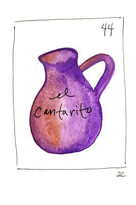 Painting - El Cantarito by Anna Elkins