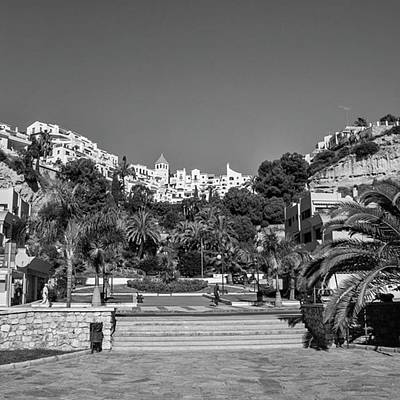 Travel Photograph - El Capistrano, Nerja by John Edwards