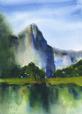 Painting - El Capitan 3 by Frank Bright