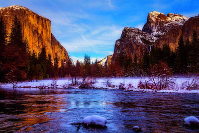 Photograph - El Capitan And Merced River by Garry Gay