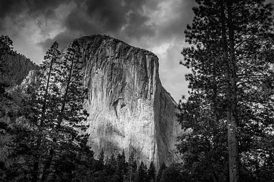 Photograph - El Capitan by Andrew Soundarajan