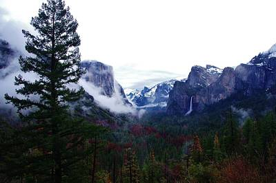Photograph - El Capitan From Artist Point F by Phyllis Spoor