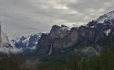 Photograph - El Capitan From Artist Point G by Phyllis Spoor
