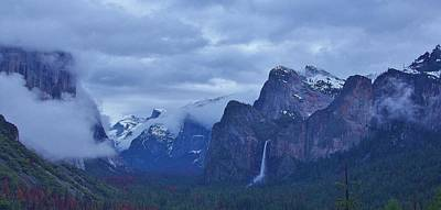 Photograph - El Capitan From Artist Point I by Phyllis Spoor