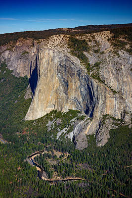 El Capitan From Taft Point Print by Rick Berk