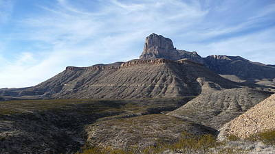 Photograph - El Capitan - Guadalupe Mountains National Park by Joel Deutsch