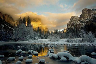 Photograph - El Capitan In Golden Light - Yosemite by Eleanor Caputo