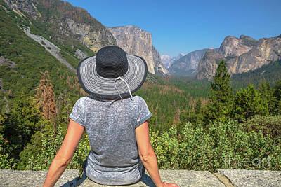 Photograph - El Capitan In Yosemite by Benny Marty