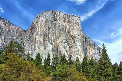 Photograph - El Capitan In Yosemite National Park by John M Bailey