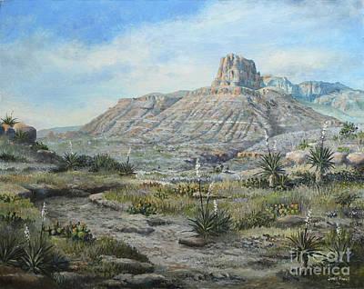 El Capitan Painting - El Capitan by James Powell