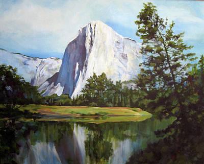 El Capitan Painting - El Capitan by Katherine Brown