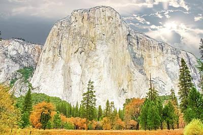Photograph - El Capitan Monolith by Marius Sipa
