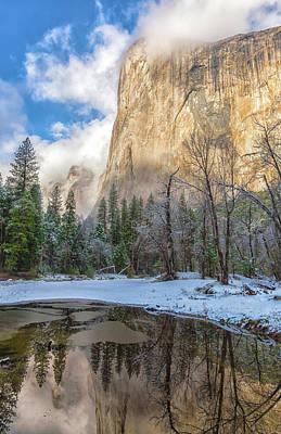 Photograph - El Capitan Reflection by Jonathan Nguyen