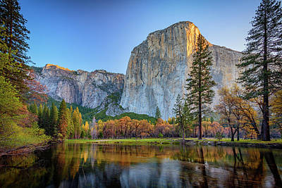Photograph - El Capitan Sunrise by Rick Berk
