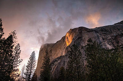 Photograph - El Capitan Sunset by Connie Cooper-Edwards
