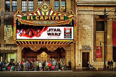 Photograph - El Capitan Theater Hollywood by Joseph Hollingsworth