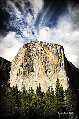Photograph - El Capitan by Tom Buchanan