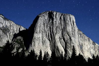 Photograph - El Capitan Under A Full Moon by Rick Furmanek