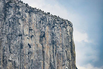 Photograph - El Capitan Up Close And Personal From Tunnel View Yosemite Np by Michael Bessler
