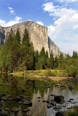 Photograph - El Capitan Yosemite National Park California by Steven Frame