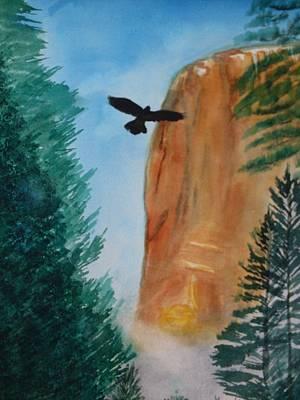 El Capitan Painting - El Capitan Yosemite National Park by Warren Thompson