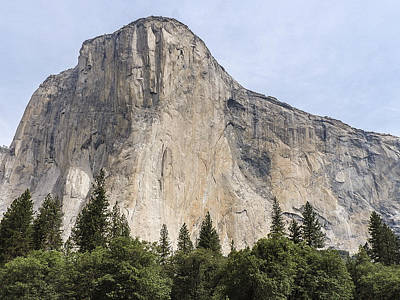 El Capitan Yosemite Valley Yosemite National Park Art Print