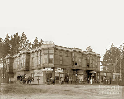 Photograph - El Carmelo Bakery And Restaurant, Central Market, W.m. Hollenbec by California Views Mr Pat Hathaway Archives