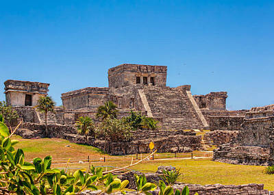 Photograph - El Castillo by John M Bailey