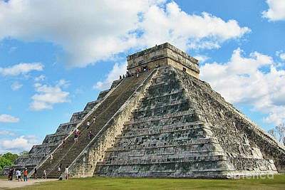 Photograph - El Castillo Of Chichen Itza by Teresa Zieba