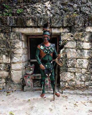 Photograph - El Cedral Guard by Anthony Dezenzio