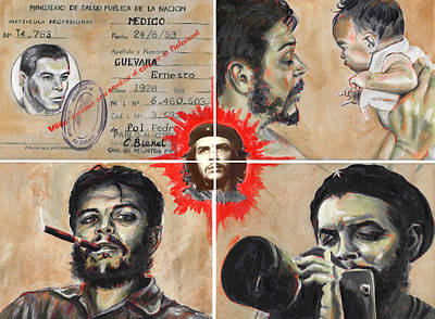 Painting - El Che Mixto by Charles  Bickel