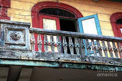 Photograph - El Chorrillo Balcony by John Rizzuto