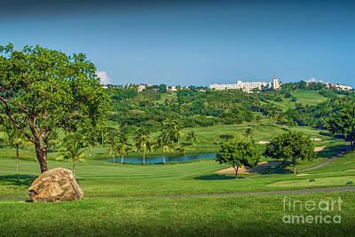 Photograph - El Conquistador Golf Course by David Zanzinger