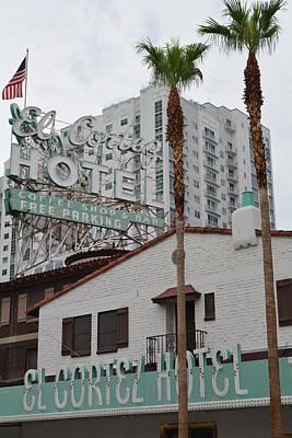 El Cortez Hotel Las Vegas Art Print