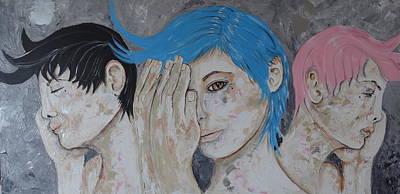 Mora Painting - El Despertar De Las Almas by David Alvarado