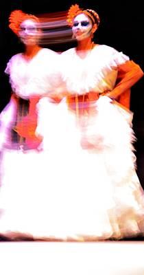 Mexican Dance Digital Art - El Doble Cabesa  by Isabel Medina