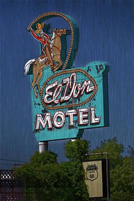 Photograph - El Don Albuquerque,nm by Steve Gravano